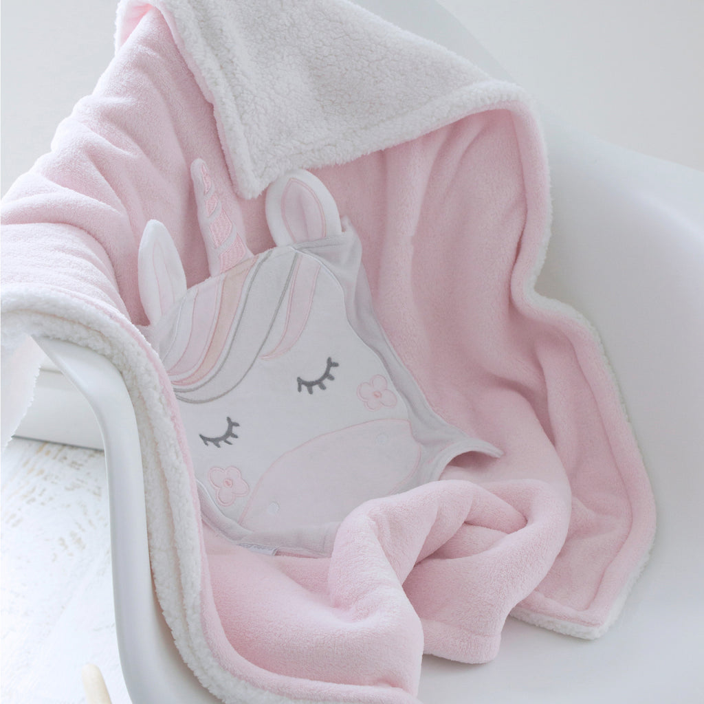 3 Unicorn Magic novelty blanket lifestyl