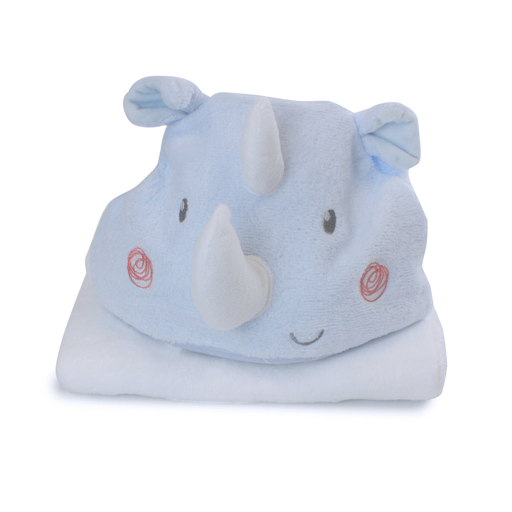 Rhino Run Novelty Bath Towel - Bubba Blue Australia