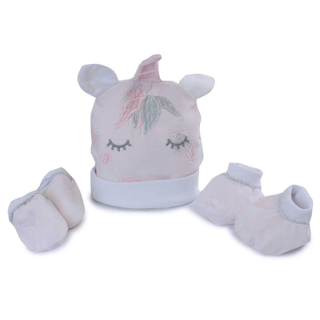 Unicorn Magic 3 Piece Newborn Set - Bubba Blue Australia