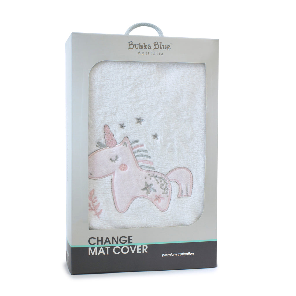 Unicorn Magic Change Mat Cover - Bubba Blue Australia