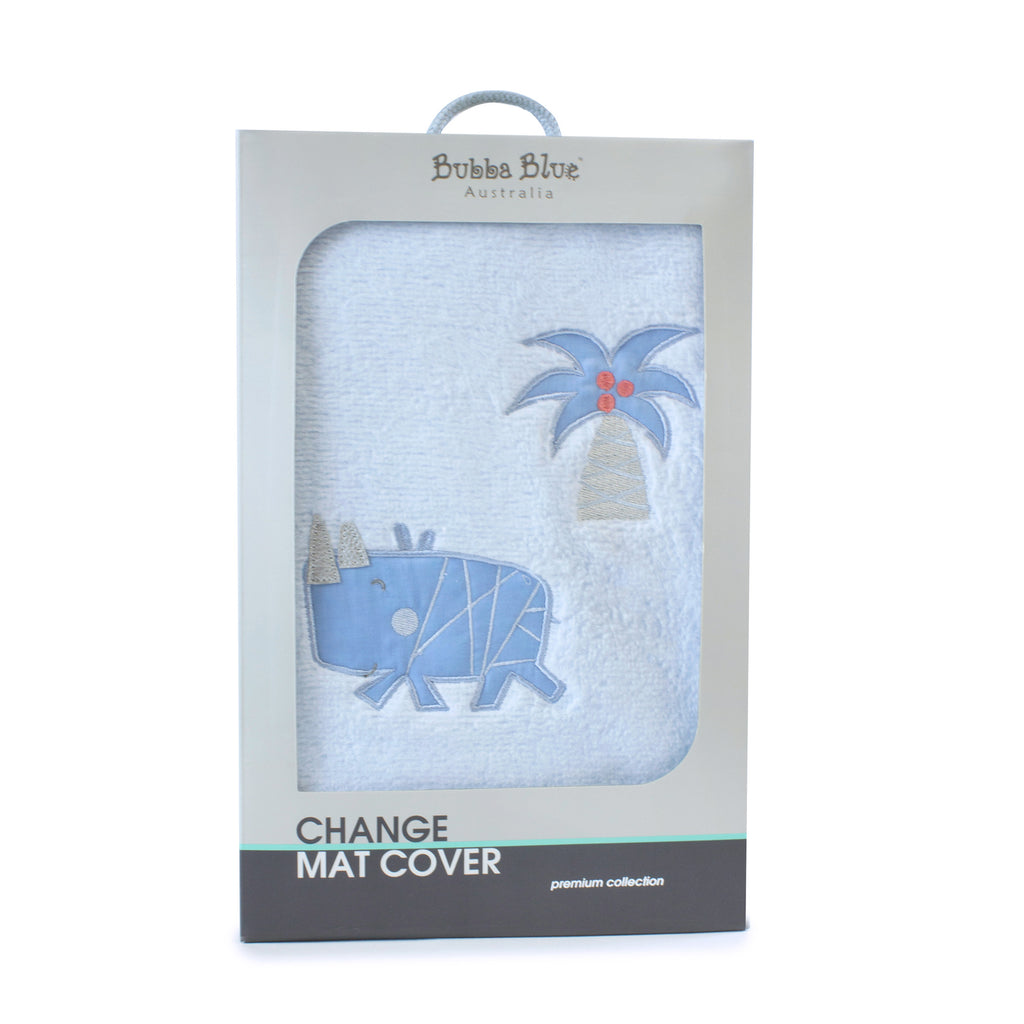 Rhino Run Change Mat Cover - Bubba Blue Australia