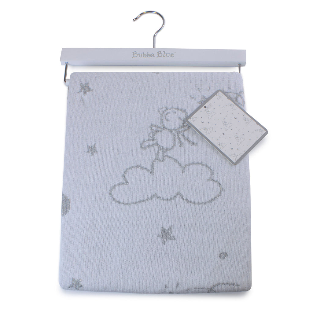 Wish Upon a Star Knit Blanket - Bubba Blue Australia