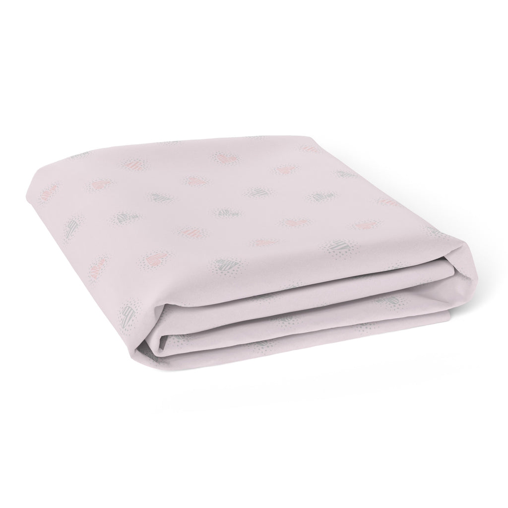 Unicorn Magic Bassinet Jersey Fitted Sheet - Bubba Blue Australia