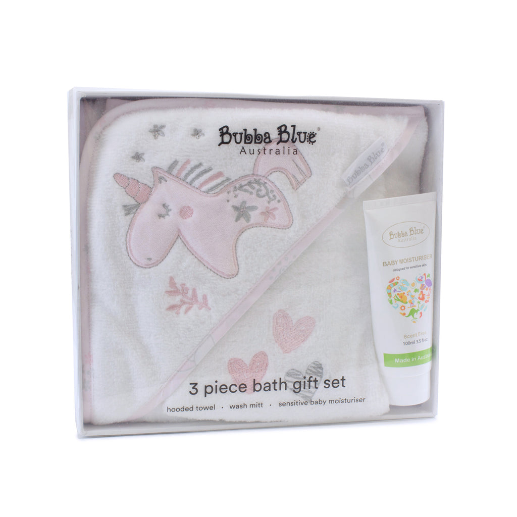 Unicorn Magic 3 Piece Bath Gift Set - Bubba Blue Australia