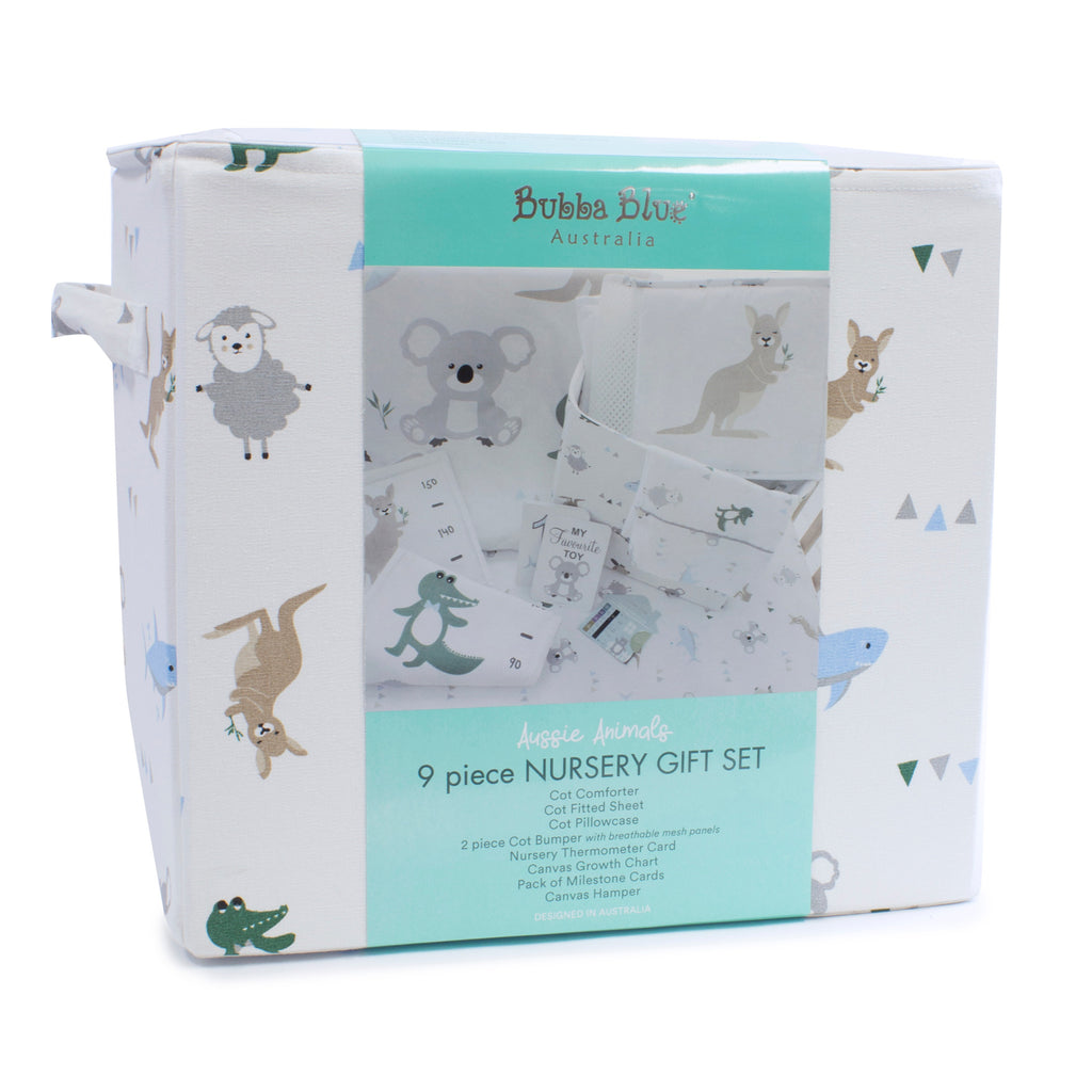 Buy One Get One Free Aussie Animal 9 Pieces Gift Set - Bubba Blue Australia