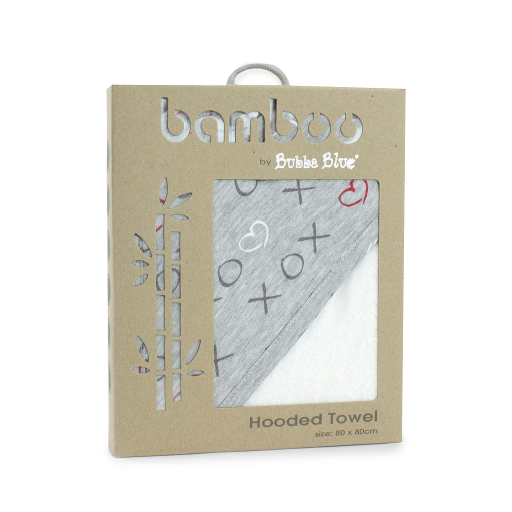 Silver Mist Bamboo Hooded Towel
