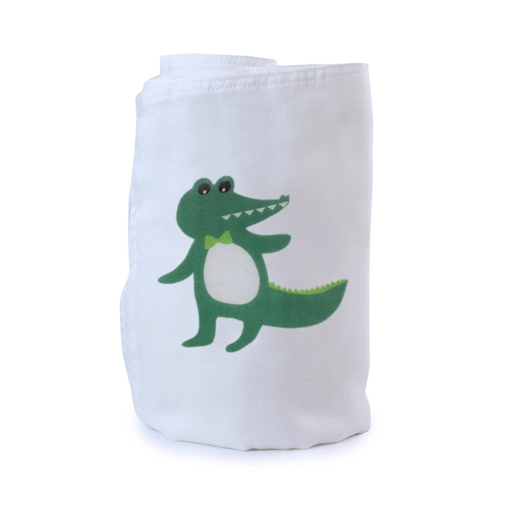 Aussie Animals Crocodile Muslin Wrap - Bubba Blue Australia
