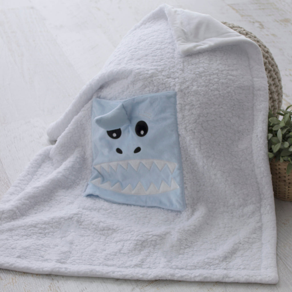 Aussie Animals Shark Novelty Blankie - Bubba Blue Australia