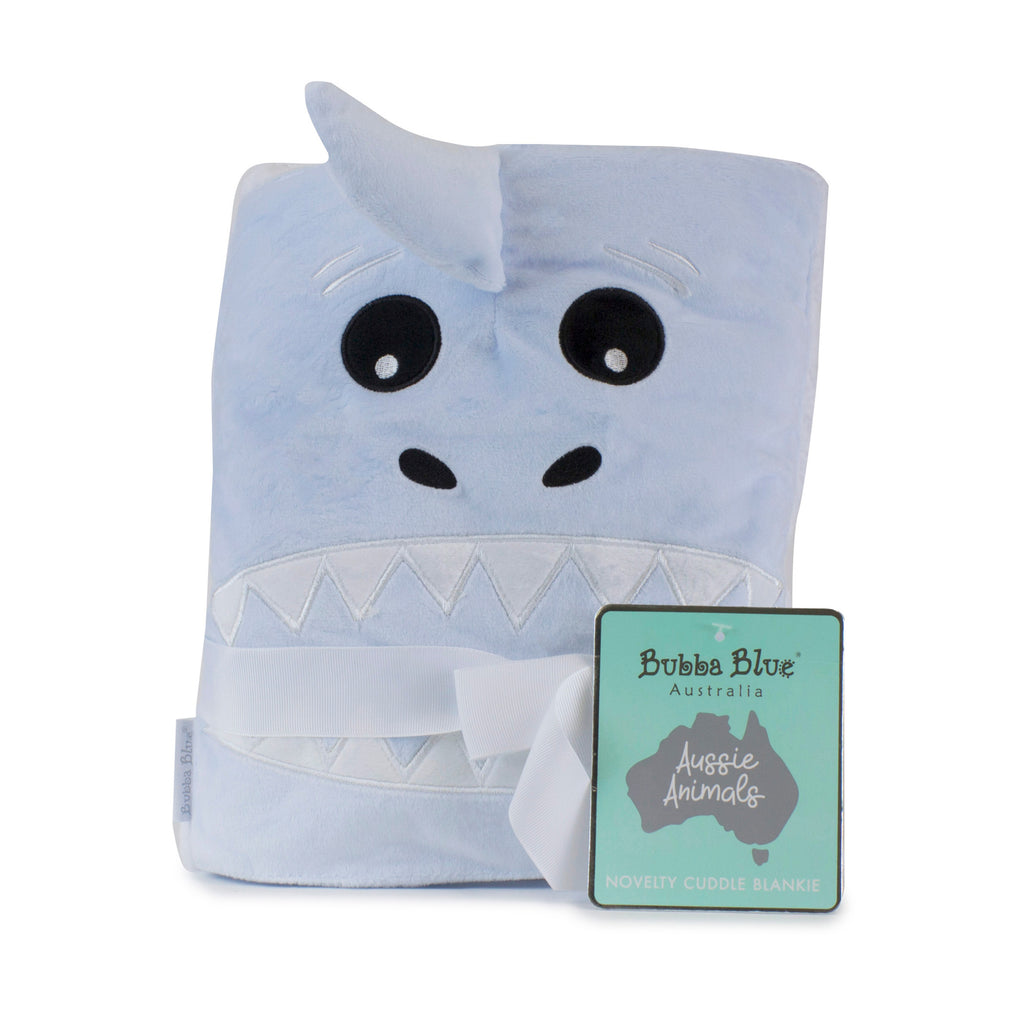 Aussie Animals Shark Novelty Blankie
