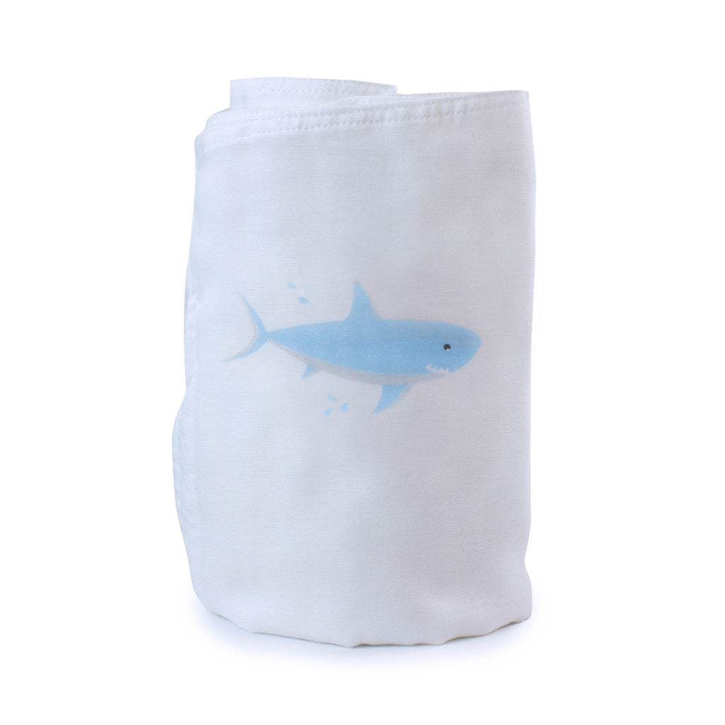 Aussie Animals Shark Muslin Wrap