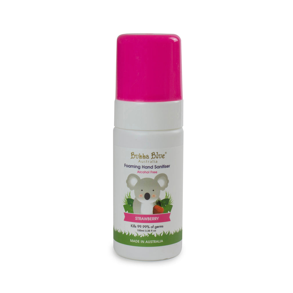 Alcohol Free Strawberry Hand Sanitiser 100ml