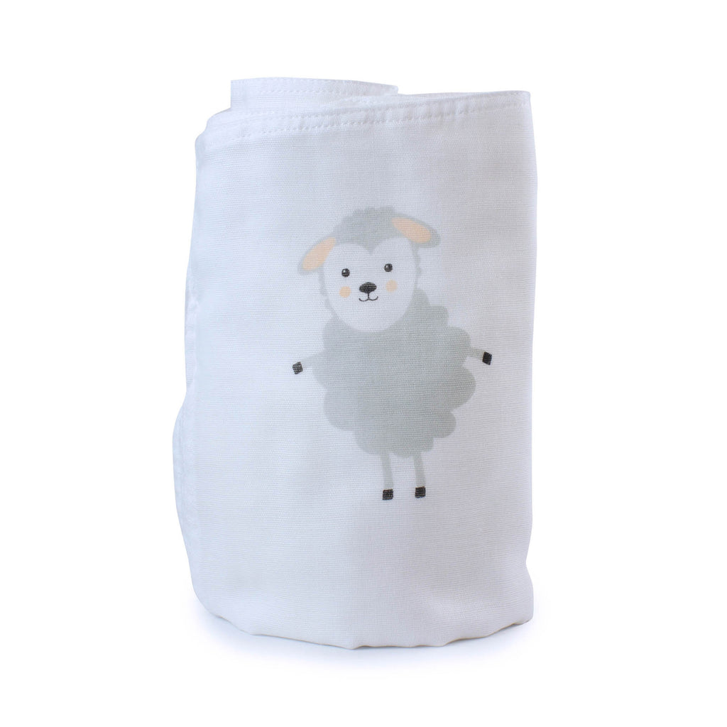 Aussie Animals Sheep Muslin Wrap