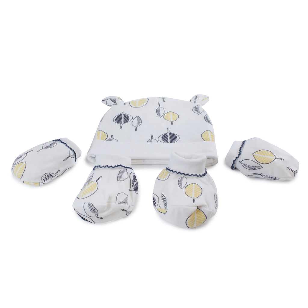 Night Sky Bamboo 3pcs Newborn Layette Gift Set - Bubba Blue Australia