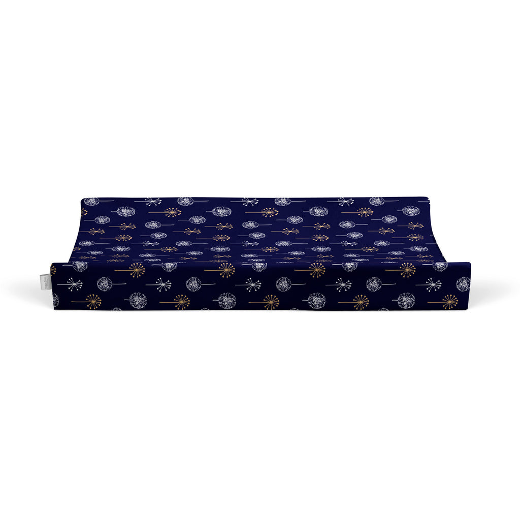 Night Sky Bamboo Jersey Waterproof Change Mat Cover - Bubba Blue Australia