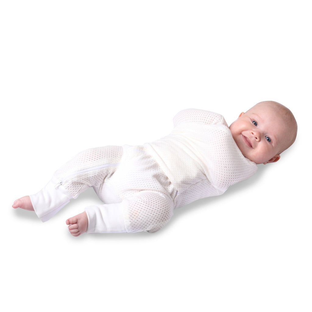 Air+ Swaddle Suit White - Bubba Blue Australia