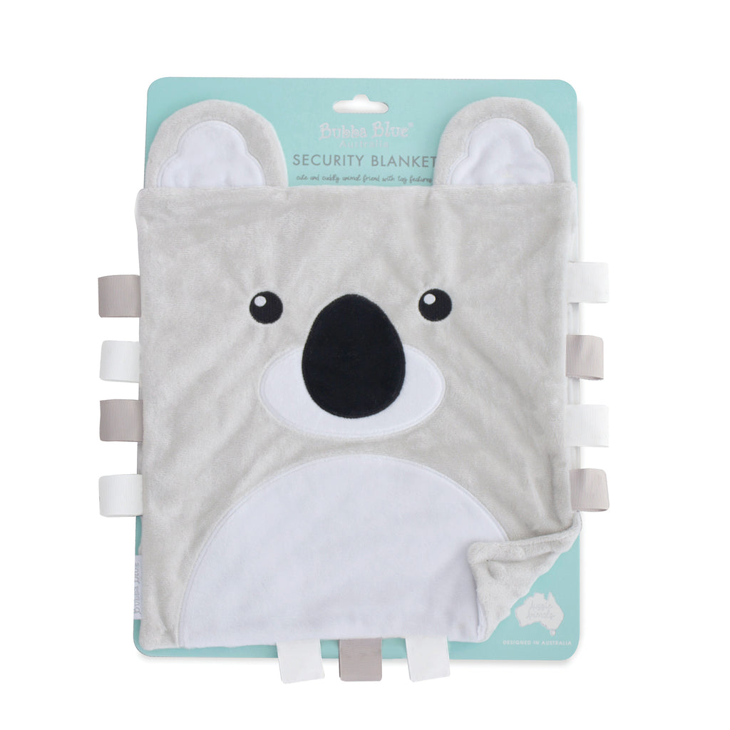 Aussie Animals Security Blanket - Koala - Bubba Blue Australia