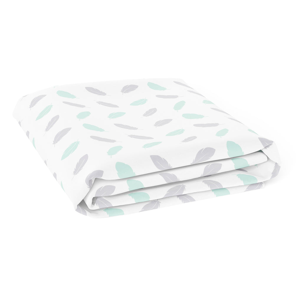 New Organic Feathers Bassinet/Cradle Fitted Sheet