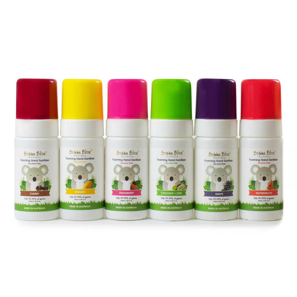 6 x Alcohol Free Hand Sanitiser Bundle - Random Fragrance