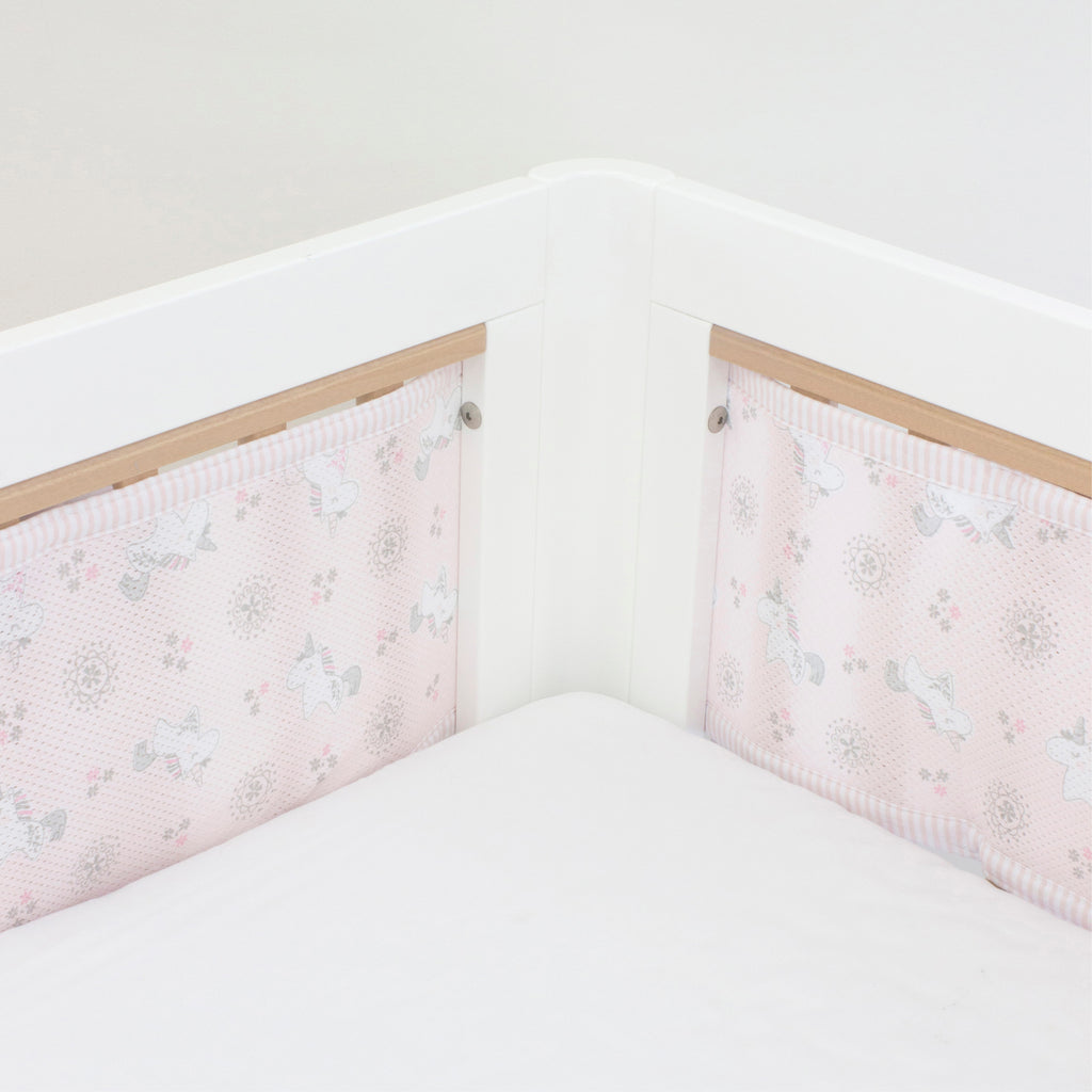 Breathe Easy Cot Liner - Unicorn Magic