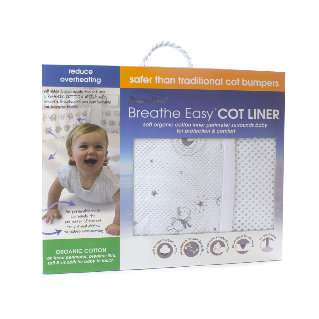 Breathe Easy Cot Liner - Wish Upon A Star