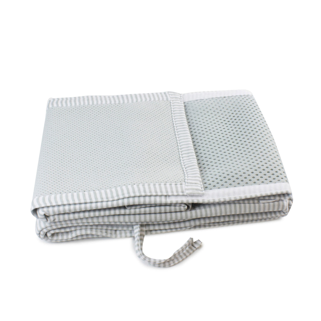 Breathe Easy Cot Liner - Grey
