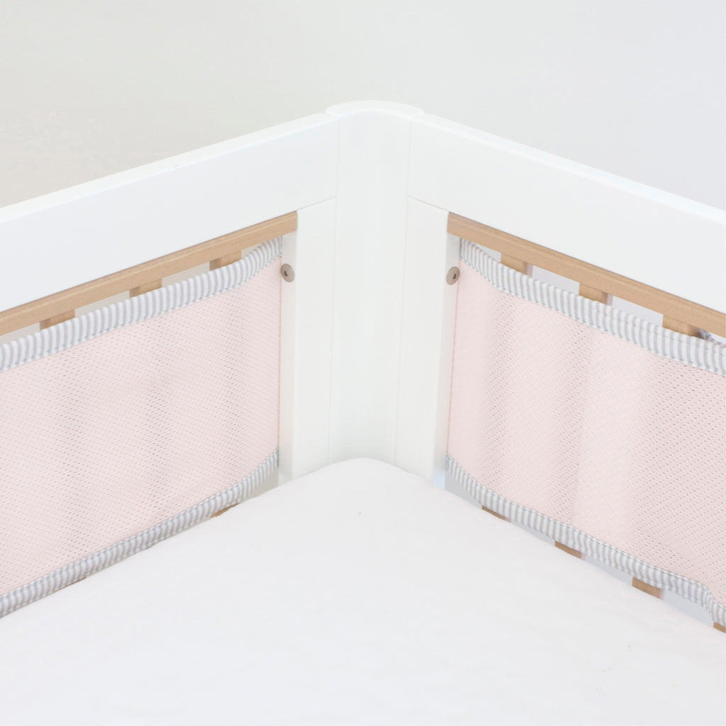 Breathe Easy Cot Liner - Pink