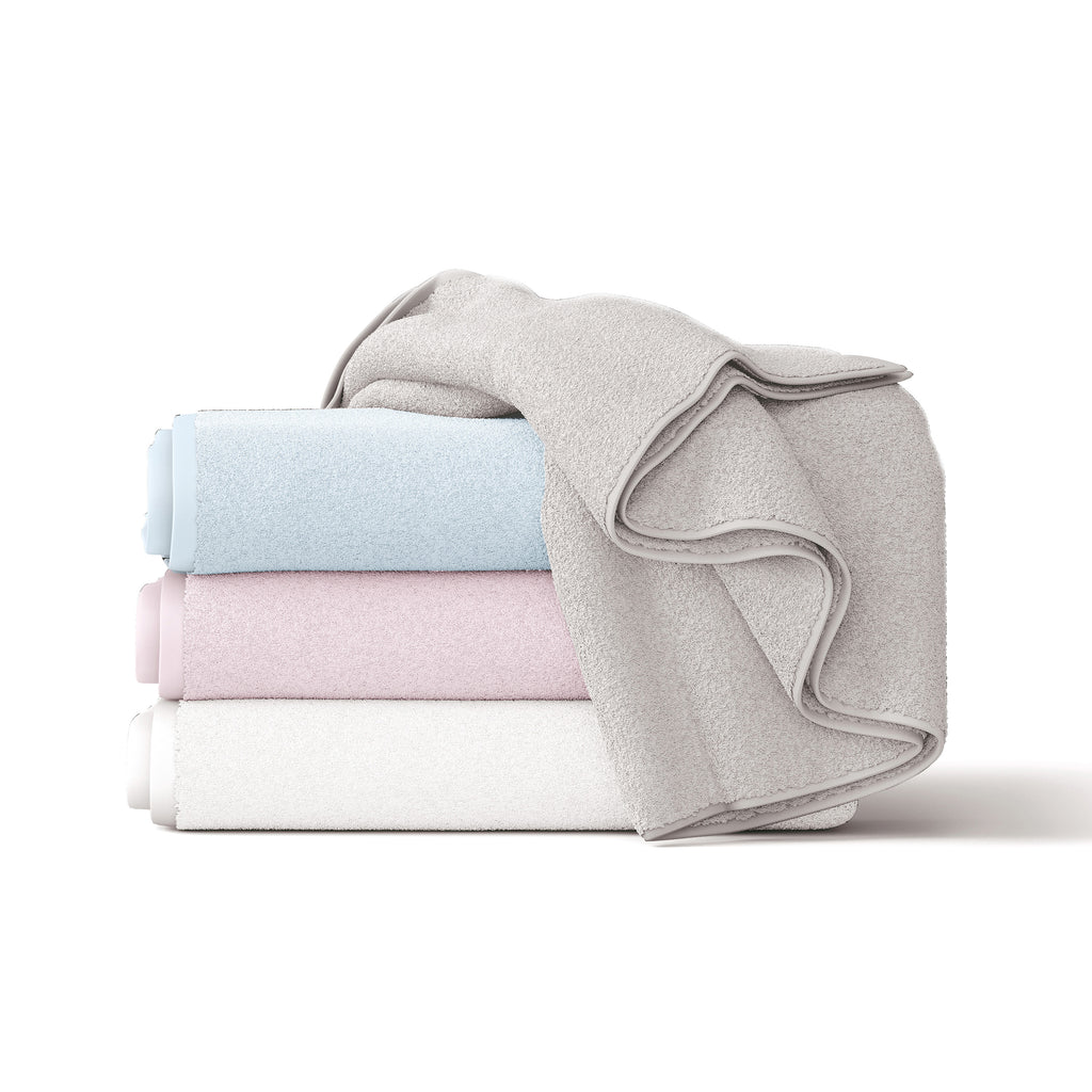 Everyday Essentials Baby Bath Towel (pink, blue, grey or white) - Bubba Blue Australia