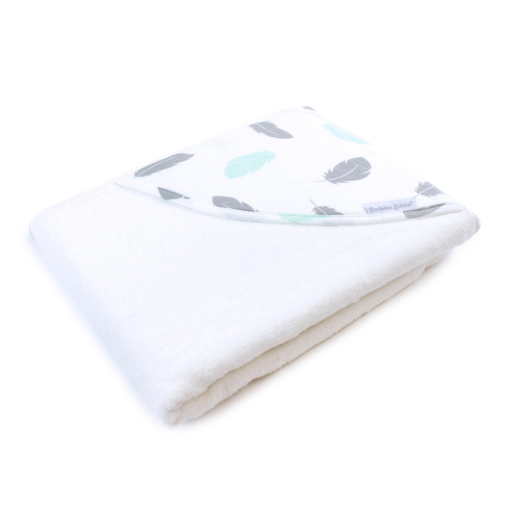 New Organic Feathers Hooded Towel