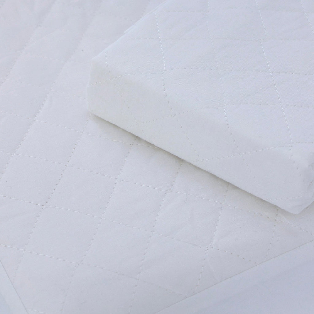Breathe Easy® Moses Basket Waterproof Quilted Mattress Protector - Bubba Blue Australia