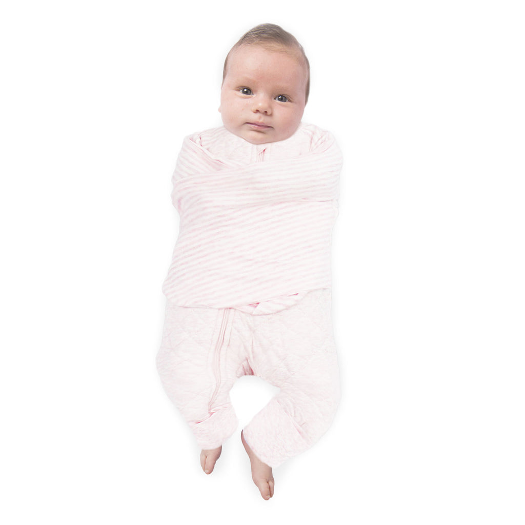 Buy One Get One Free Plum 2.5 TOG Swaddle Suit - Bubba Blue Australia