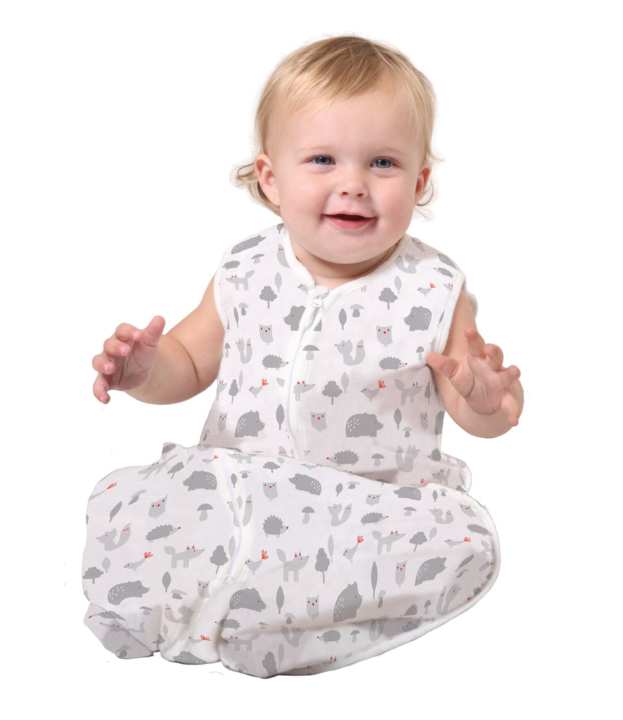 Buy One Get One Free PLUM Cotton Muslin Sleep Bag 0.5 TOG