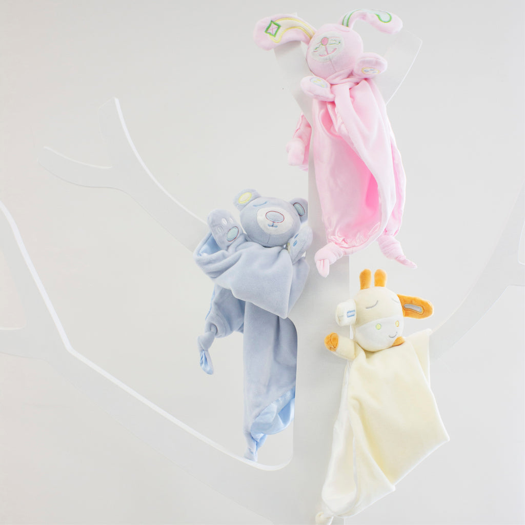 Pink Bunny Security Blanket