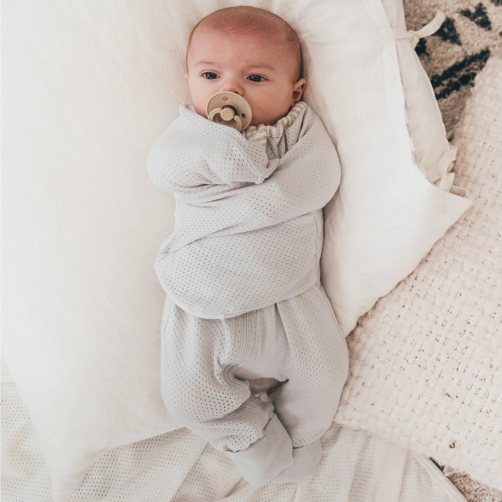 Air+ Swaddle Suit Grey - Bubba Blue Australia