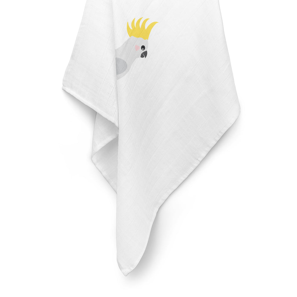 Aussie Animals Cockatoo Muslin Wrap - Bubba Blue Australia