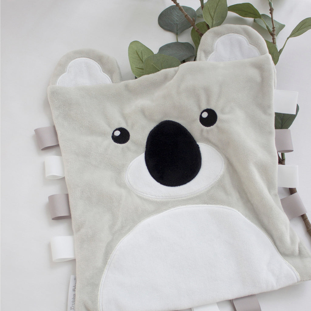 Buy One Get One Free Aussie Animals Security Blanket - Koala - Bubba Blue Australia