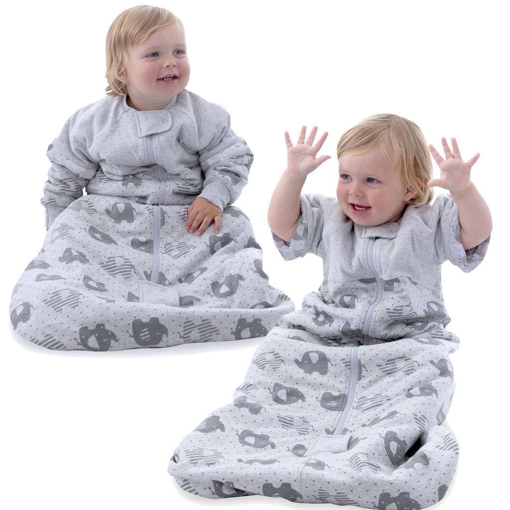 Buy One Get One Free Petit Elephant 2.5 Tog Convertible Sleeping Bag