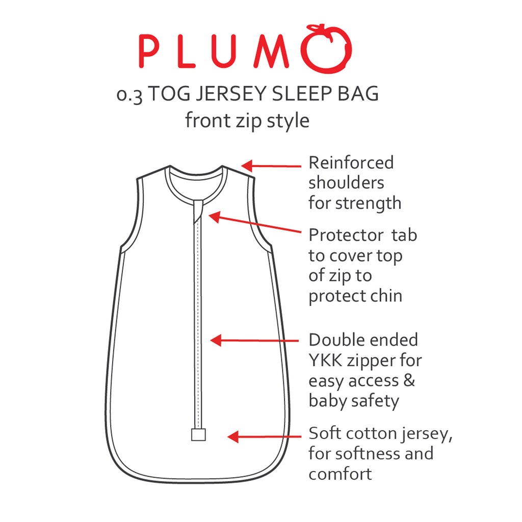 PLUM Swan 0.3 TOG Jersey Sleeping Bag