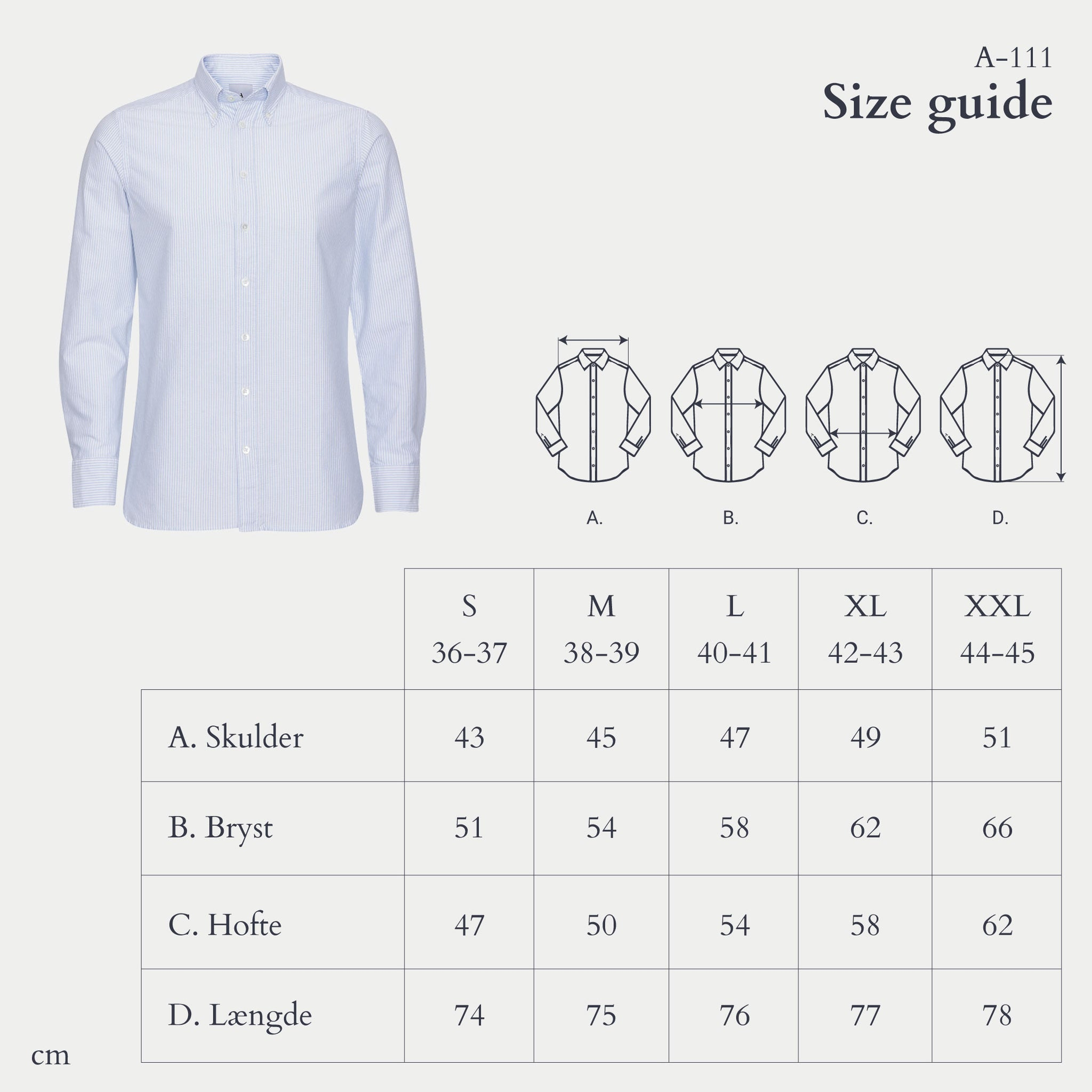 Appearance-A-111-Sky-Blue-Oxford-Shirt