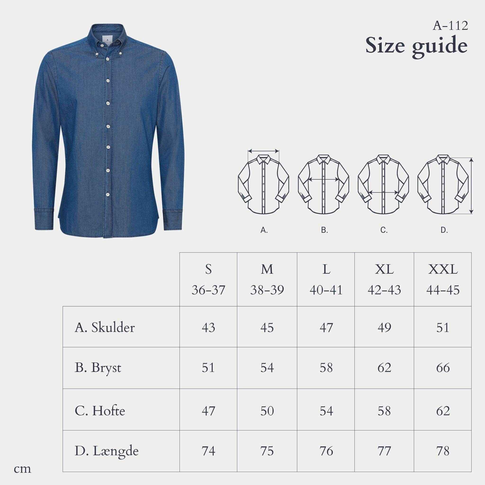 Appearance-A-112-Denim-Shirt