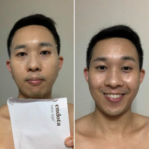 New Age™ Power Serum Sheet Mask | Review by Natthaphon