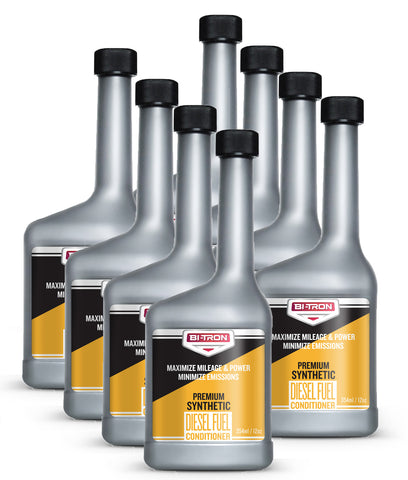 SAVE $1.75 EACH! Bitron Superior Synthetic Diesel Conditioner - 12oz (Case of 8)