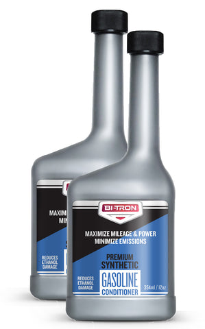 SAVE $0.75 EACH! Bitron Superior Synthetic Gasoline Conditioner - 12oz (Set of 2)