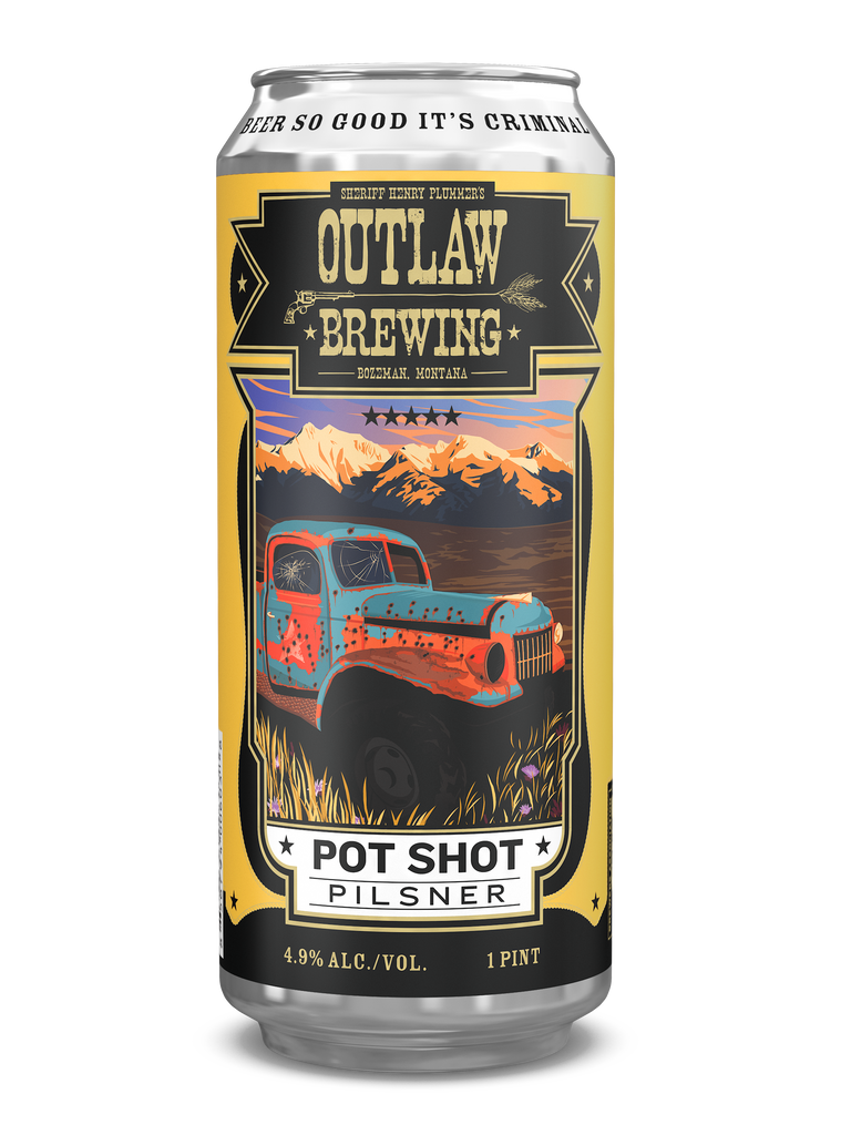 Pot Shot Pilsner