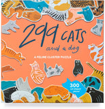 299 Cats and a Dog 300 Piece Cluster Puzzle