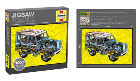 Haynes Manual Jigsaw, Land Rover, 1000 Pieces