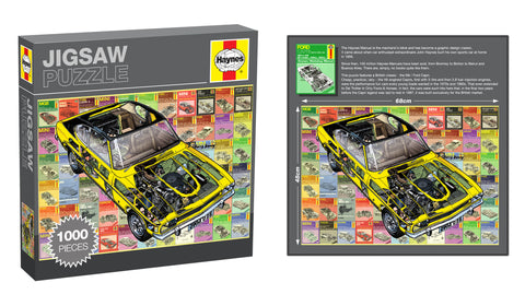 Haynes Jigsaw, Ford Capri, 1000 Pieces