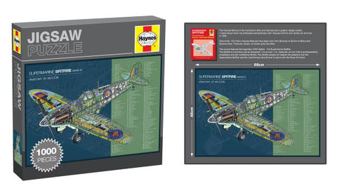 Haynes Jigsaw, Spitfire, 1000 Pieces