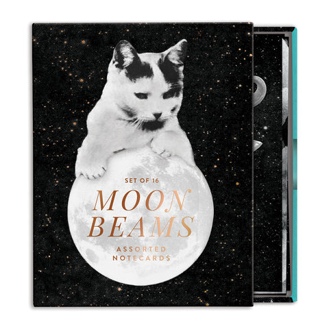 Moonbeams Cat Notecards