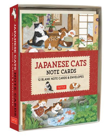 Japanese Cats Notecards