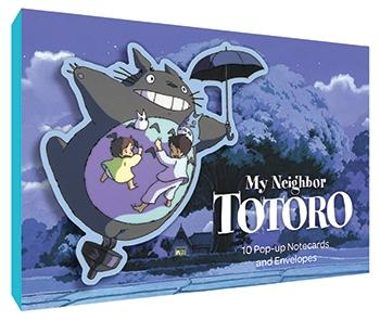 My Neighbour Totoro Pop Up Notecards